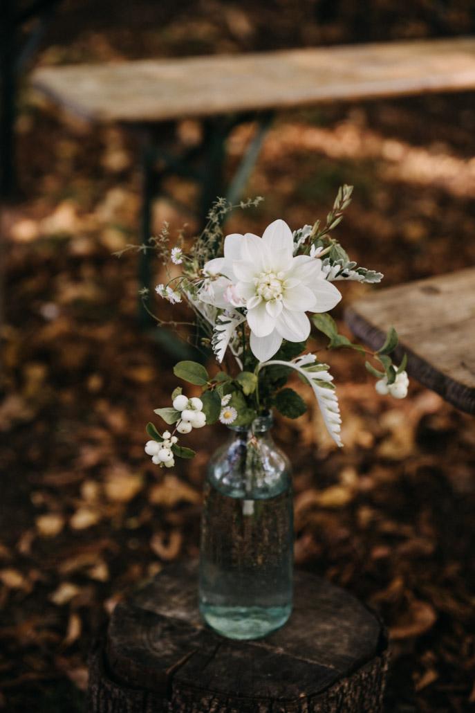 Bouquet léger pour la cérémonie