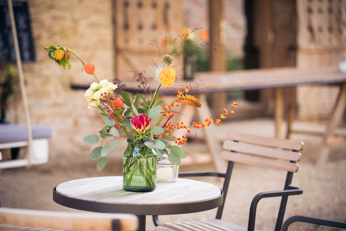 Bouquet aux couleurs de l'automne